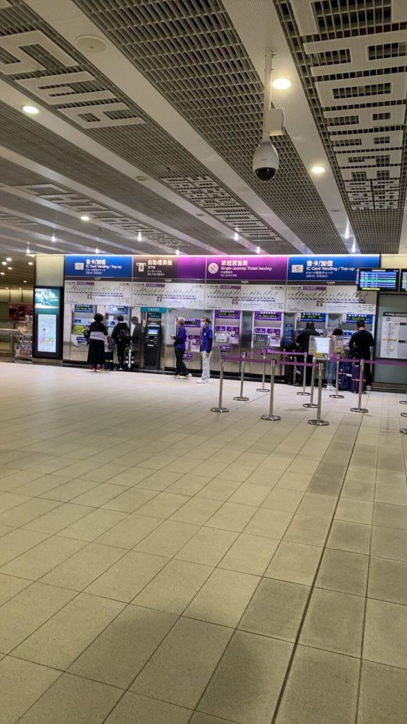 台湾高速鉄道_乗車券購入