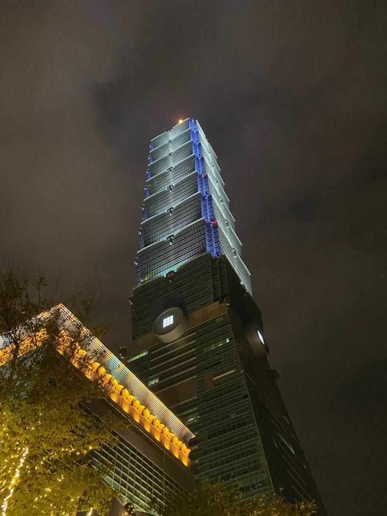 台北101_ほかの建物対比