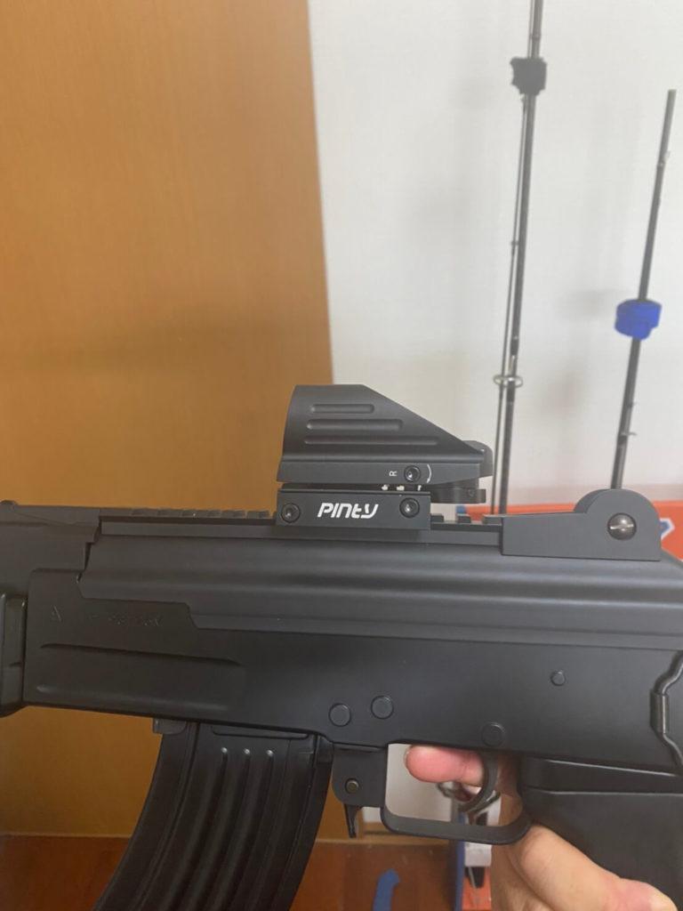 AK47HCサイト取り付け