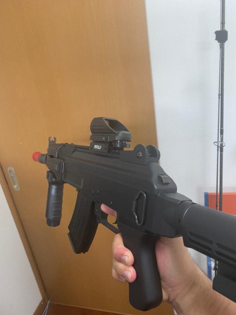 AK47HCサイト取り付け後