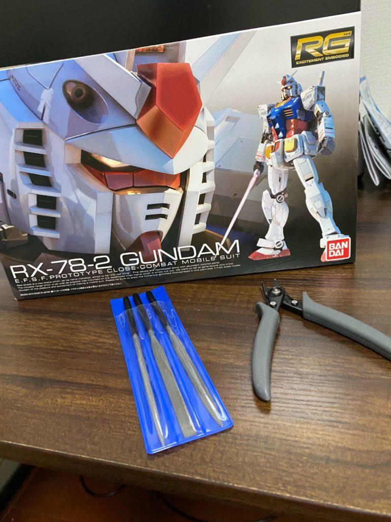 RG 1/144 RX-78-2ガンダム