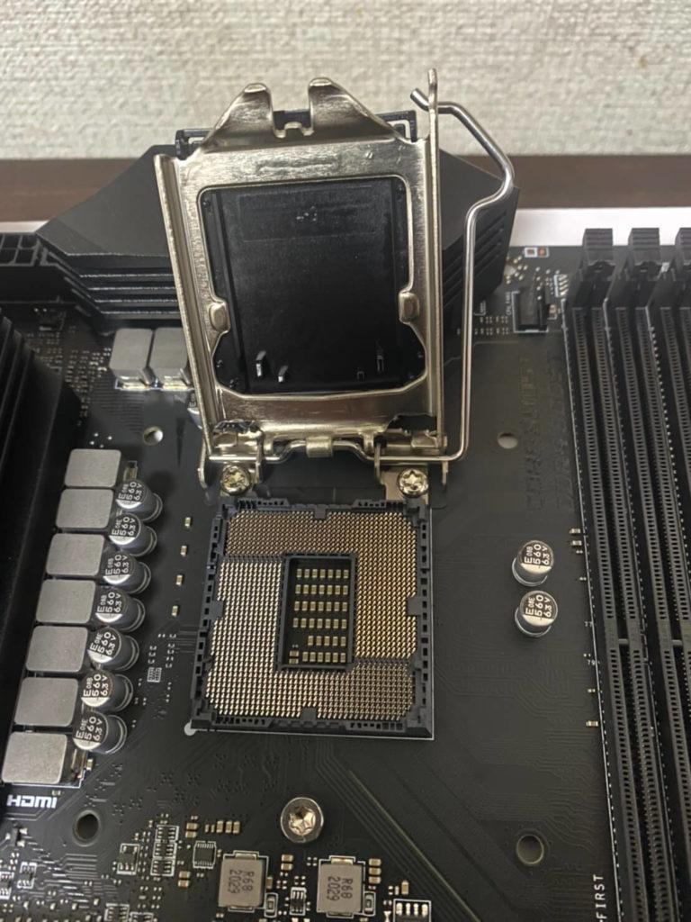 CPUの入れること